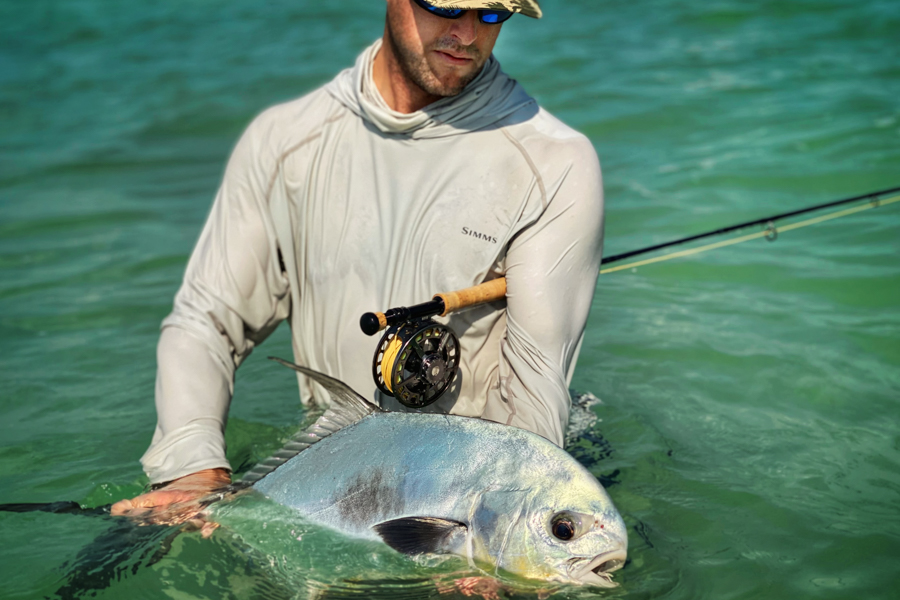 Fishing for Permit Mexico