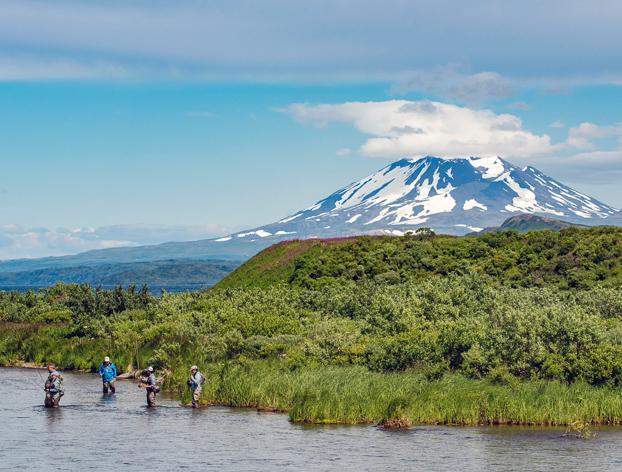 Alaska fly out fishing lodge