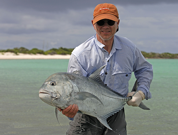Fly Fishing Indian Ocean Poivre Atoll Saint Joesephs Atoll Flats Bonefish Seychelles