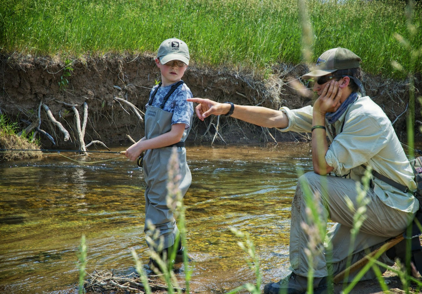 Guided Fly Fishing Instruction Private Kids Professional