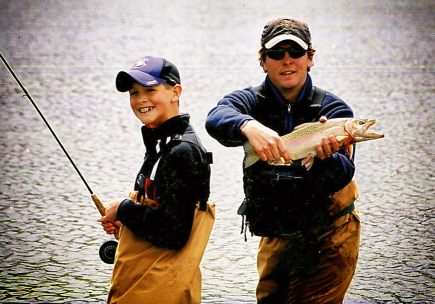 Kid Fly Fishing Fun Guide Instruction Instructor Teacher
