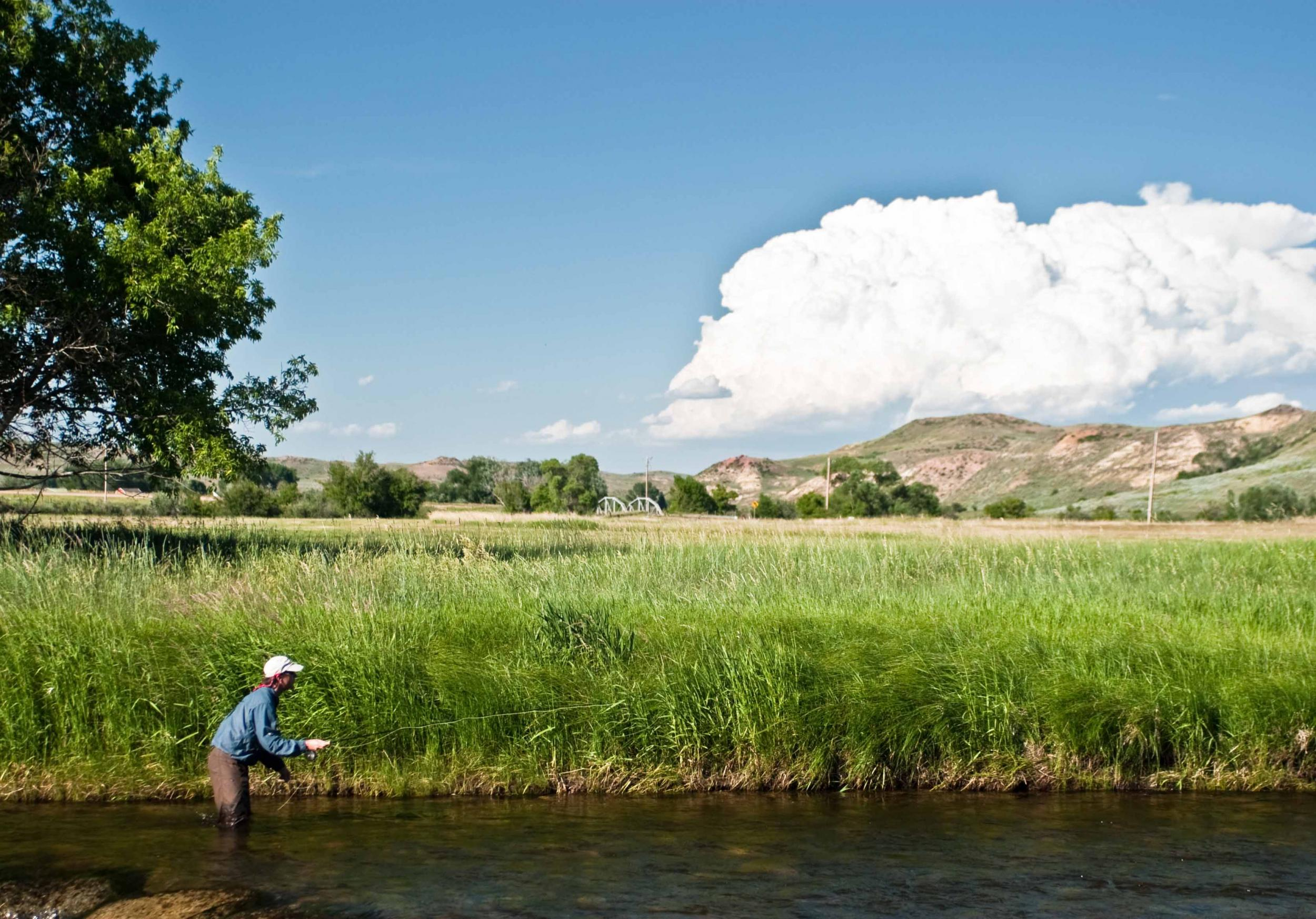 Private Water Wade Fishing Fly Fishing Wyoming
