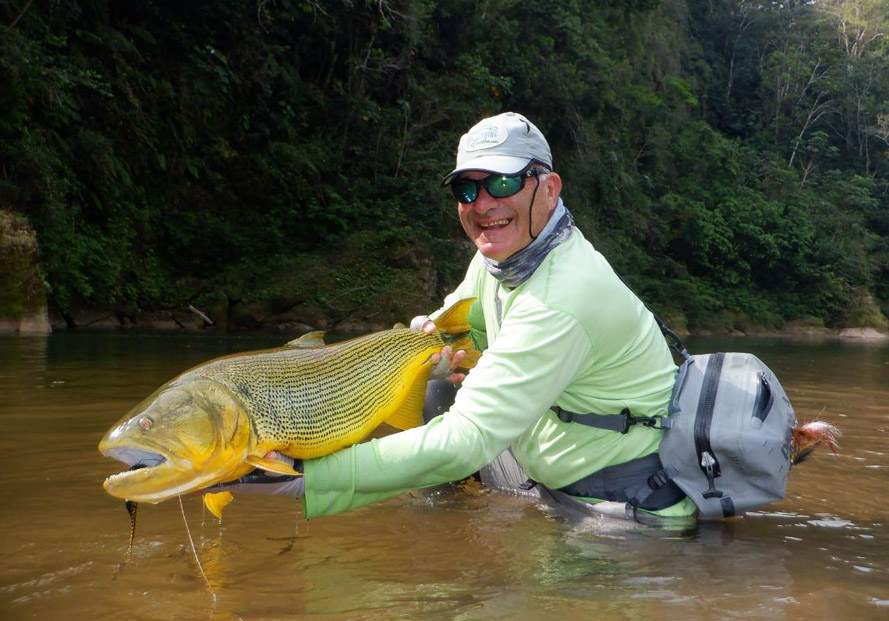 Bolivia Golden Dorado fly fishing tsimane Agua Negra