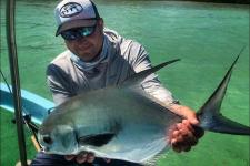 Fly Fishing for Permit Mexico Fishing Lodge