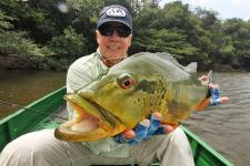 Agua Boa Lodge, peacock bass, Brazil, fly fishing