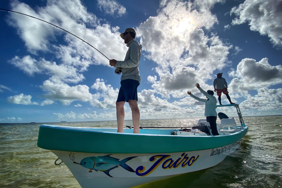 Fly Fishing Ascension Bay